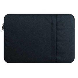 Merkloos MacBook Pro 13 Inch Hoes-Spatwater proof Sleeve met handvat & ruimte voor accessoires Navy