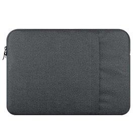Ntech Ntech MacBook Pro 13 Inch Hoes-Spatwater proof Sleeve met handvat & ruimte voor accessoires Grijs