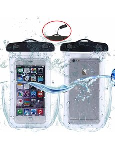 Merkloos Waterdichte telefoon hoesje / waterbestendig Pouch voor Motorola Moto Z3 Play