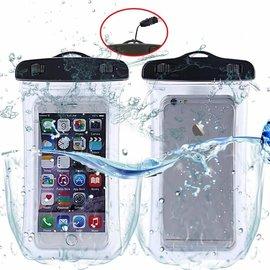 Merkloos Waterdichte telefoon hoes / waterbestendig Pouch voor Motorola Moto Z3 Play