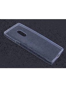 Merkloos Transparant TPU Case ultra thin silicone hoesje voor de LG Q7