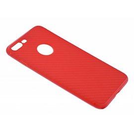 OU case OU Case Rood Soft TPU Hoesje Ferrari series voor iPhone 8+ (Plus) / 7+ (Plus)