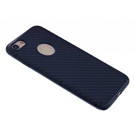 OU case OU Case Zwart Soft TPU Hoesje Ferrari series voor iPhone 8 / 7