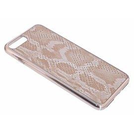 OU case OU Case Goud Dimon Series Hard TPU Hoesje voor iPhone 8+ (Plus) / 7+ (Plus)