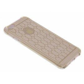 OU case OU Case Goud Soft TPU Hoesje Crystal series voor iPhone 6+ (Plus) / 6S+ (Plus)