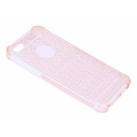 OU case OU Case Rose Goud Soft TPU Hoesje Crystal series voor iPhone 5 / 5S / SE