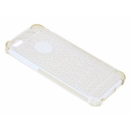 OU case OU Case Goud Soft TPU Hoesje Crystal series voor iPhone 5 / 5S / SE