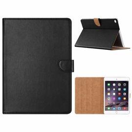 Ntech Ntech iPad Air 2 Zwart Booktype Kunstleer Hoesje Met Pasjesruimte