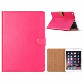 Merkloos iPad Air Roze  Booktype Kunstleer Hoesje