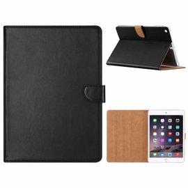 Ntech Ntech iPad Air Zwart Booktype Kunstleer Hoesje