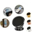 Merkloos Luxe 360 Universele one Touch Magnetische Dashboard houder Zwart