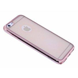 OU case Rose Goud OU Case Ultra Dun Soft TPU Hoesje iPhone 6 / 6S