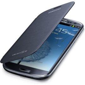 Samsung Flip Cover voor de Samsung Galaxy S3 (Galaxy i9300) (pebble blue) (EFC-1G6FBEC)