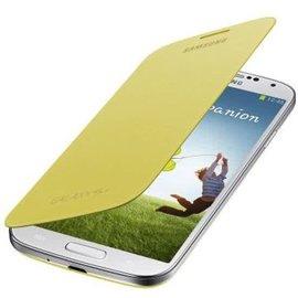 Samsung Flip Cover voor de Samsung Galaxy S4 (Galaxy i9500) (yellow) (EF-FI950BYEG)