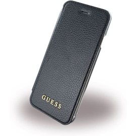 Guess Guess IriDescent Book Case/Cover - Samsung Galaxy S8+ (Plus versie) - Zwart