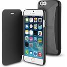 Muvit Muvit Folio Card Case  voor Apple iPhone 6 / 6S - Zwart