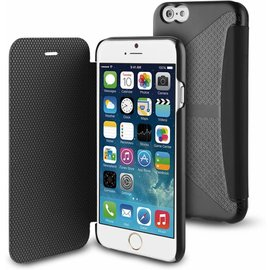 Muvit Muvit Folio Card Case  voor Apple iPhone 6 / 6S - Zwart