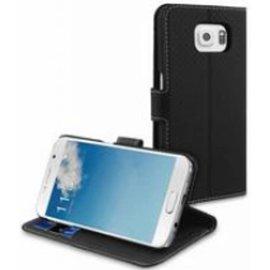 Muvit Muvit Wallet Stand case met 3 cardslots voor Samsung Galaxy S6 - Zwart