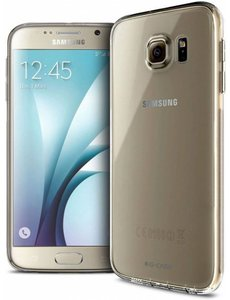 Merkloos Ultra thin Samsung Galaxy S6 Case Cover - Crystal Clear