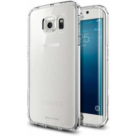 Merkloos Ultra thin Samsung Galaxy S6 Edge Case cover - Crystal Clear