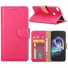 Ntech Ntech Alcatel A7 Portemonnee hoesje / book case Pink