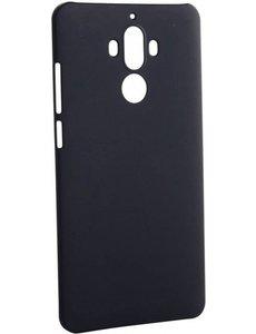 Merkloos Huawei Mate 9 Pro backcover silicone hoesje zwart