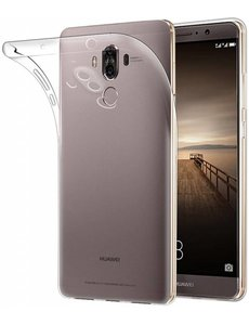 Merkloos Huawei Mate 9 transparant ultra dunne slim fit silicone TPU backcover hoesje