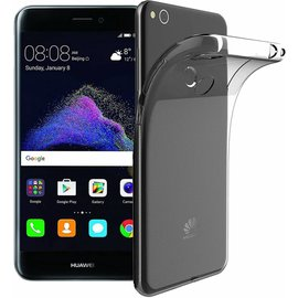 Merkloos Huawei P8 Lite 2017 case, Silicone TPU Crystal Clear Soft Protective Rubber TPU Cover  hoesje