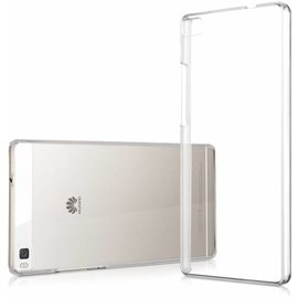 Merkloos Huawei P8 Lite Ultra Thin Slim Crystal Clear soft Transparant Back Cover hoesje