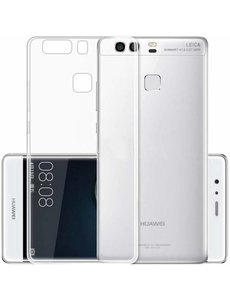 Merkloos Huawei P9 Lite ultra dun crystal clear grip bumper case cover hoesje
