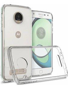 Merkloos Motorola Moto Z Play transparant tpu hoesje