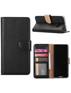Merkloos Samsung Galaxy J5 2016 Portmeonnee hoesje / booktype case zwart