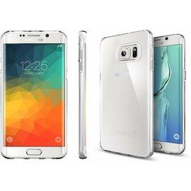 Merkloos Samsung Galaxy S6 Edge Plus ultra thin transparant TPU hoesje