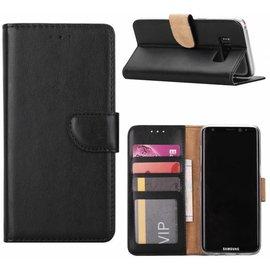 Merkloos Samsung Galaxy S6 Portmeonnee hoesje  / booktype case zwart