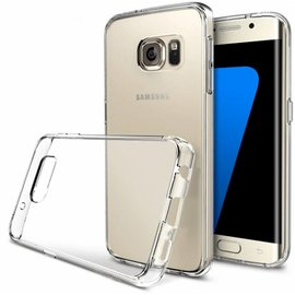 Merkloos Samsung Galaxy S7 Edge Ultra dun Crystal Clear / tansparant tpu silicone hoesje