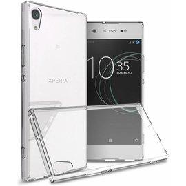 Merkloos Sony Xperia XA1 transparant tpu hoesje
