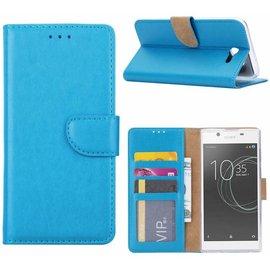 Merkloos Sony Xperia XZ Premium Portemonnee hoesje / book case Blauw