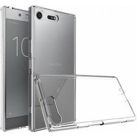 Merkloos Sony Xperia XZ premium transparant tpu hoesje