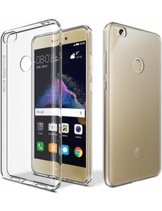 Merkloos Transparant ANTI Scratches TPU hoesje voor de Huawei P8 Lite 2017