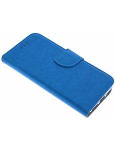 Merkloos iPhone 6 / iPhone 6S Portmeonnee hoesje / booktype case Blauw