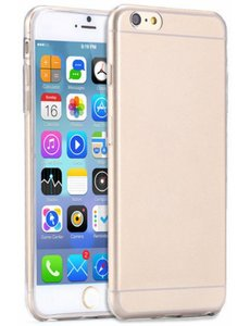 Merkloos iPhone 6 Plus / iPhone 6S Plus Ultra thin 0.3mm Gel TPU Clear transparant Case hoesje