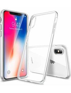 Merkloos iPhone X / Xs transparant soft TPU hoesje ultra dun