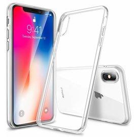 Ntech Ntech iPhone X / Xs (10) transparant soft TPU hoesje ultra dun