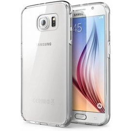 Oucase OuCase Galaxy S6 Edge Plus Ultra thin Siliconen Gel TPU Hoesje / Case/ Cover Transparant Naked Skin