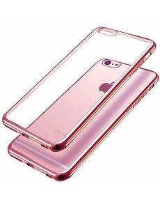 Merkloos Samaung Samsung Galaxy S7 Edge TPU bumper Rose Goud