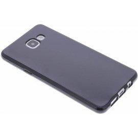 Merkloos Samsung Galaxy A3 (2016 A310F) Gel tpu ultra thin back case cover Zwart
