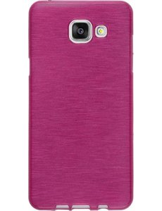 Merkloos Samsung Galaxy A3 (2016 A310F) Scratch Resistant TPU Gel Rubber backcover Pink