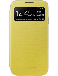 Samsung Samsung S View Cover voor Samsung Galaxy S4 - Geel