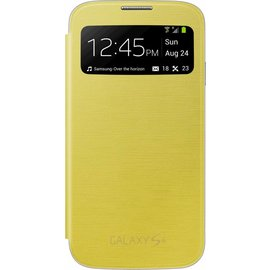 Samsung Samsung S View Cover voor Samsung Galaxy S4 - Geel