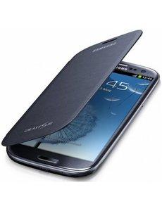 Samsung Samsung i9300 Samsung Galaxy S3 EFC-1G6FBEC Flip Cover Chrome Blue